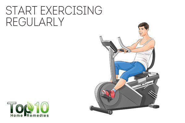 start exercising regularly to help quit smoking