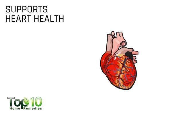 vitamin K supports heart health