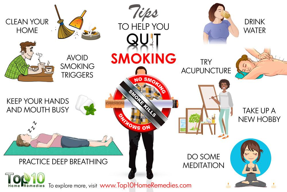 10 Tips To Help You Quit Smoking