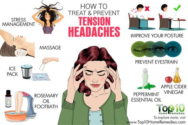 how to prevent and treat tension headaches