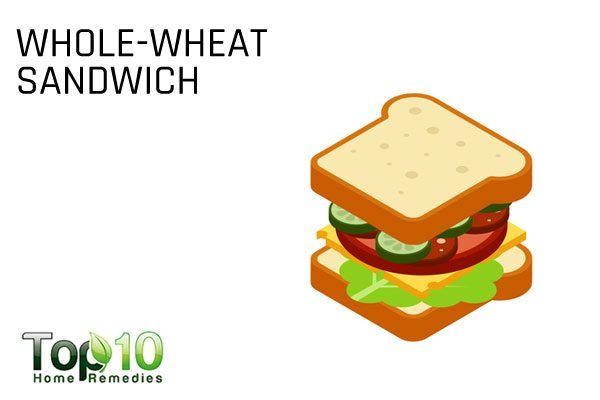 whole wheat sandwich for diabetics