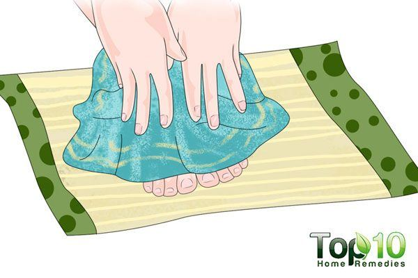 dry your feet