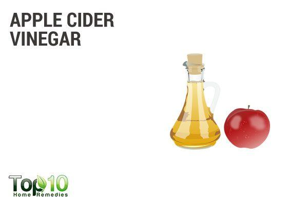 apple cider vinegar to remove ticks