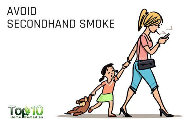 avoid your child's exposure to secondhand smoke