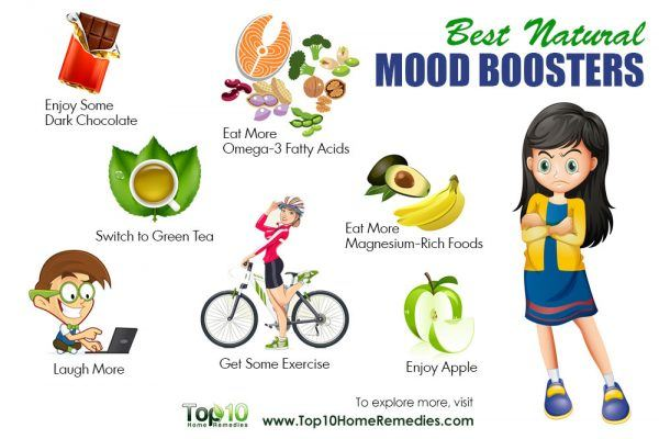 10 best natural mood boosters