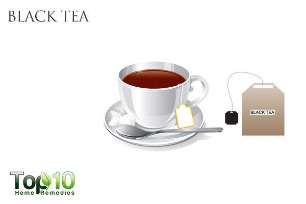 black tea for pink eye infection in kids