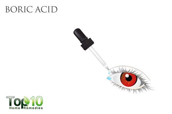 boric acid for pink eye in kids
