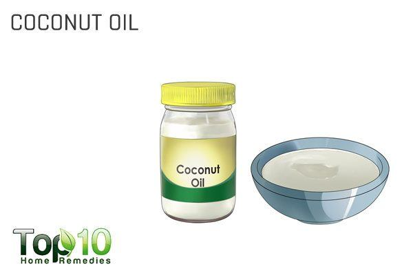 coconut oil for dog itching