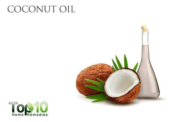 coconut oil for conjunctivitis in children