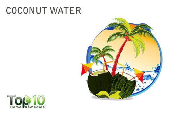 coconut water to increase urine output