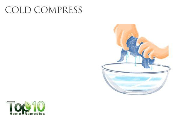 cold compress for conjunctivitis