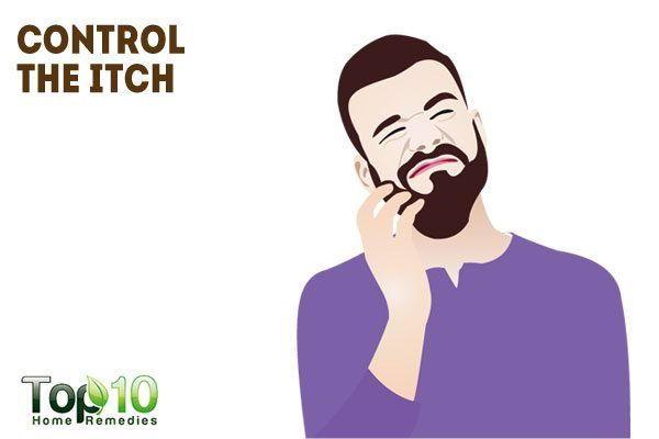 control the itch to help grow yopur beard