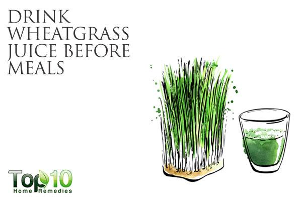 how to make wheatgrass juice in a vitamix