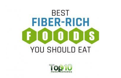 10 Best Fiber-Rich Foods You Should Eat