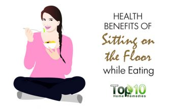 Health Benefits of Sitting on the Floor while Eating