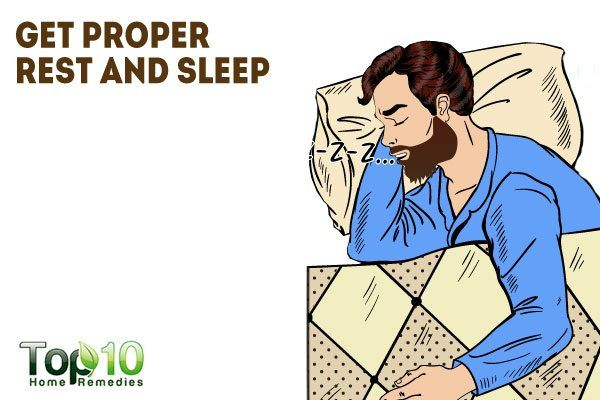 get proper rest and sleep to help grow your beard