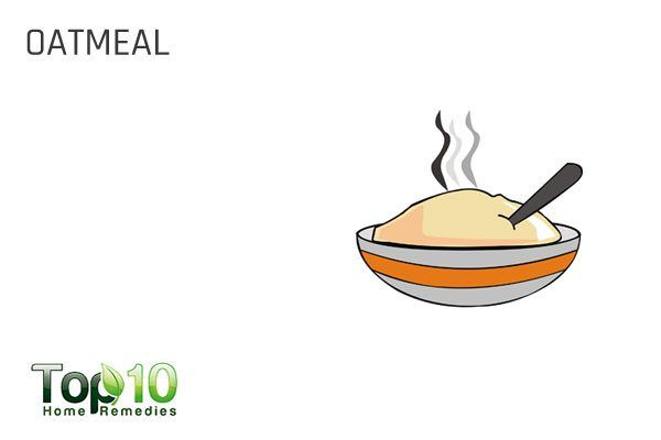 oatmeal for dog itchy skin