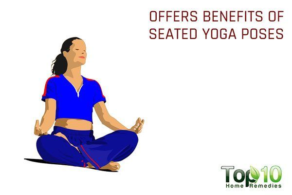 sitting on floor offers benefits of seated yoga poses