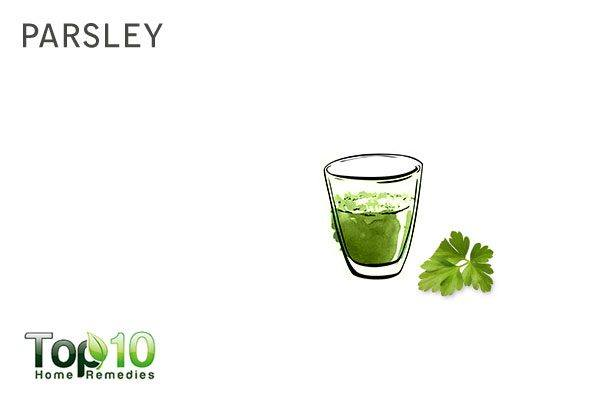 parsley to increase urine output