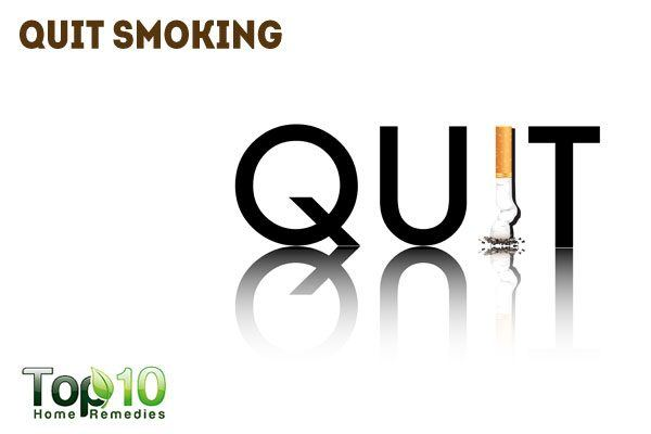 quit smoking to control diabetes