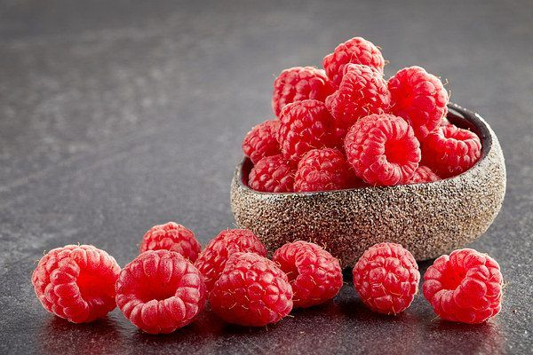 raspberries for fiber intake