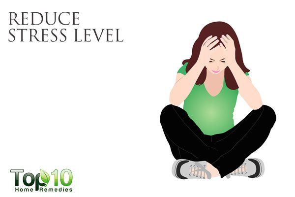 reduce stress level to improve gut health
