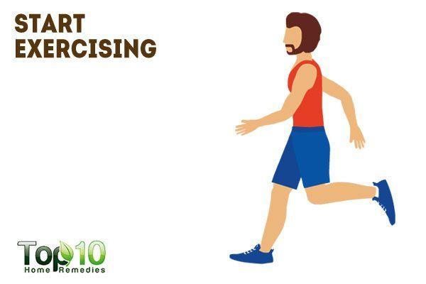 start exercising to help grow your beard
