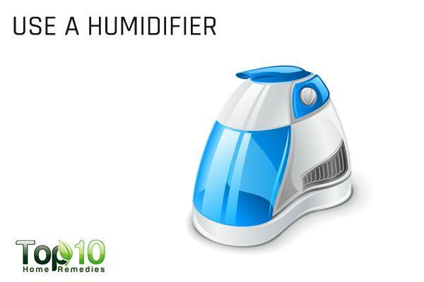 use a humidifier to treat breathing problem in babies
