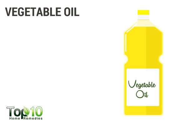 use vegetable oil to kill ticks