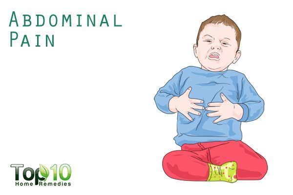 prolonged abdominal pain in children
