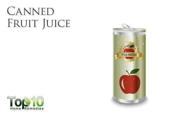 canned fruit juice bad for diabetes