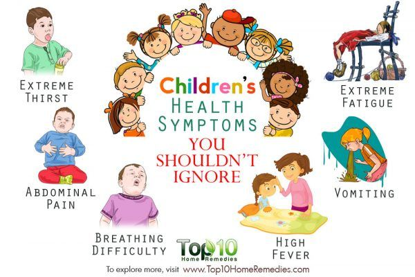 children's health symptoms