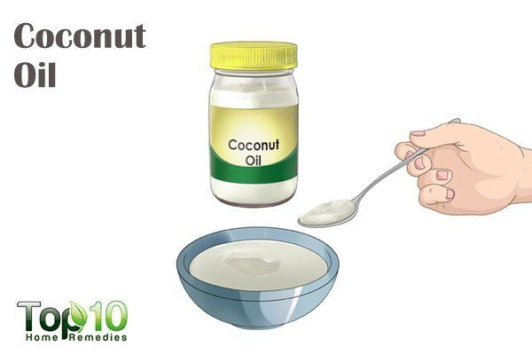 coconut oil for mononucleosis