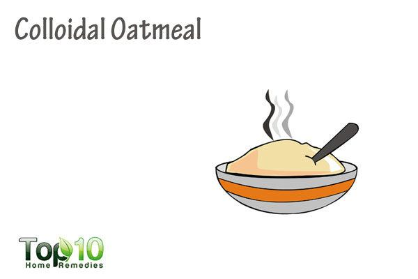 colloidal oatmeal for molluscum contagiosum