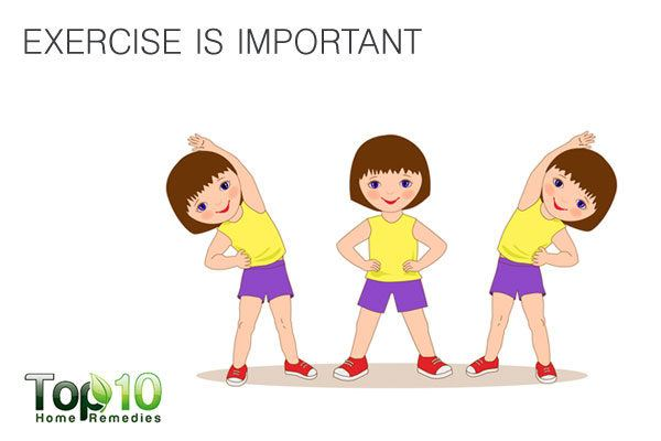 get your child to exercise