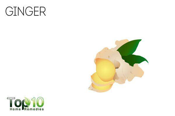 ginger for stomach burning sensation