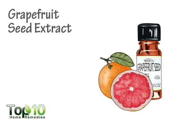 grapefruit seed extract for lesions