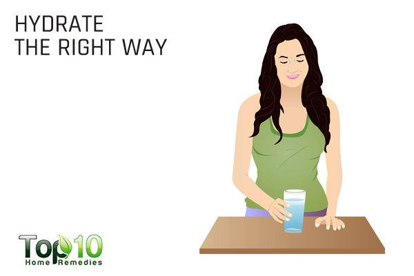 hydrate the right way to control sugar craving