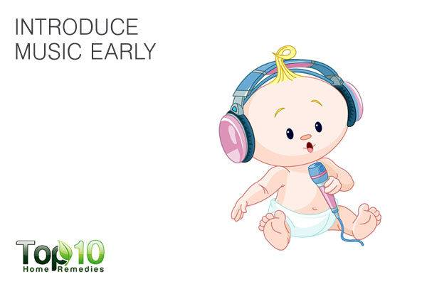 introduce music early to kids