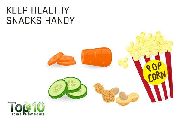 keep healthy snacks handy