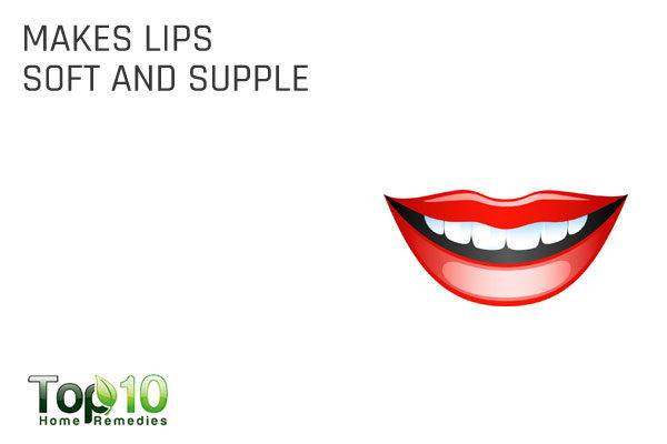glycerin makes lips soft and supple