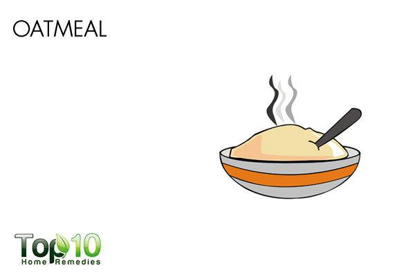 oatmeal remedy for Perioral dermatitis