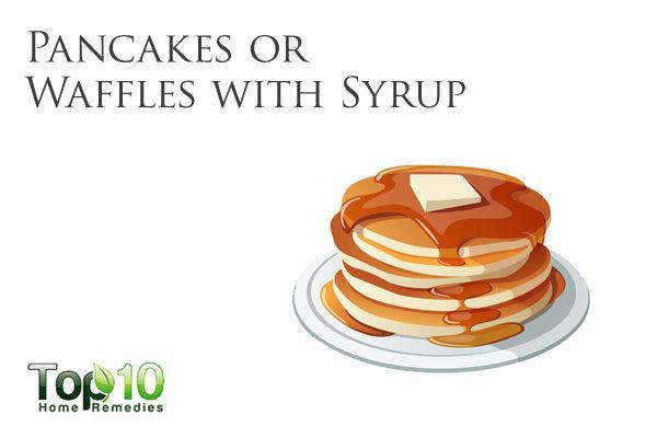 don't eat pancakes with syrup when diabetes