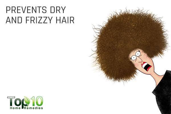 glycerin prevents dry and frizzy hair