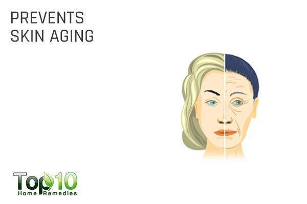 glycerin prevents skin aging