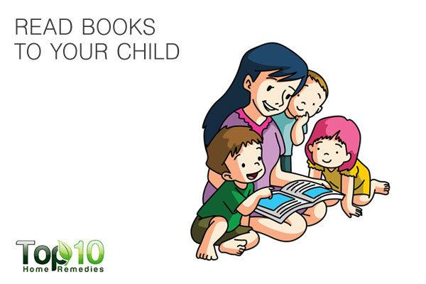 read books to your child to improve brain development