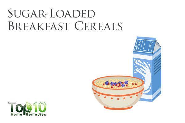 sugar loaded breakfast cereals bad for diabetes