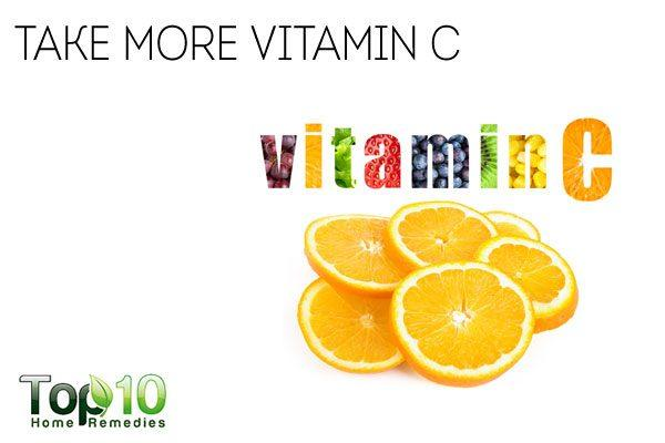 take more vitamin c