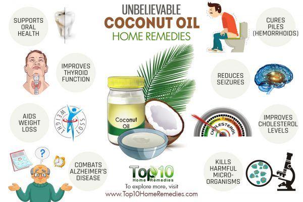 unbelievable coconut oil home remedies
