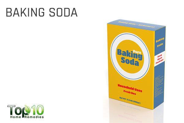 baking soda to treat garlic odor